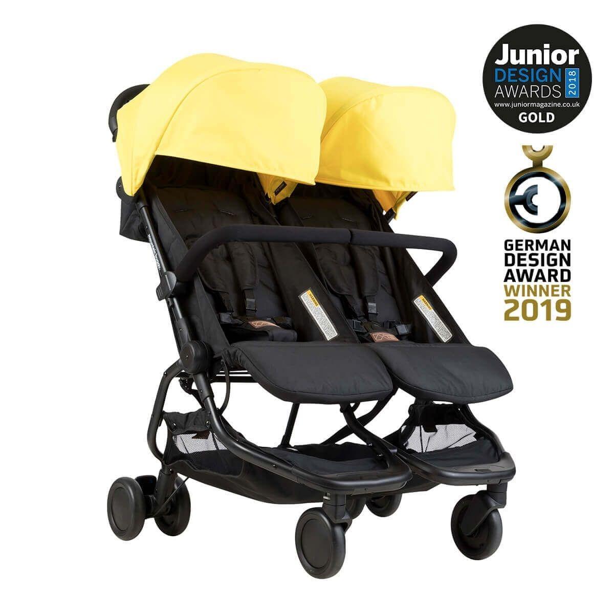 MountainBuggy Nano Duo Double stroller